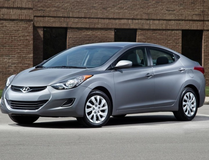 Hyundai Elantra Car Rental in Astana