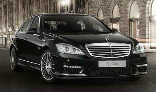 Mercedes S-class W 221 Car Rental in Astana