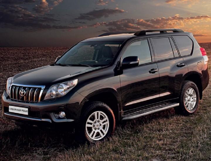 Toyota Land Cruiser Prado150 Car Rental in Astana