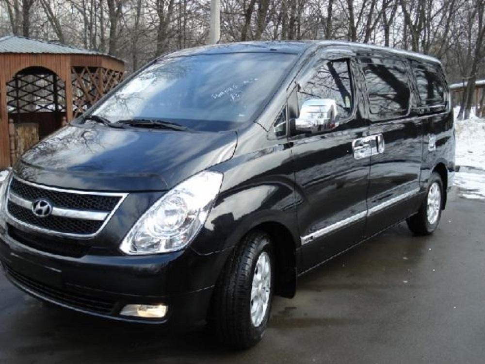 Hyundai Grand Starex Van Rental in Astana