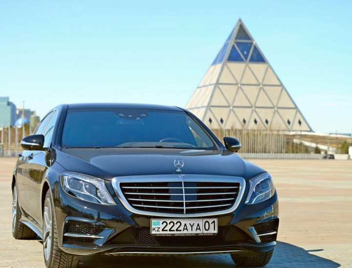 Mersedes S-Class W 222 Car Rental in Astana