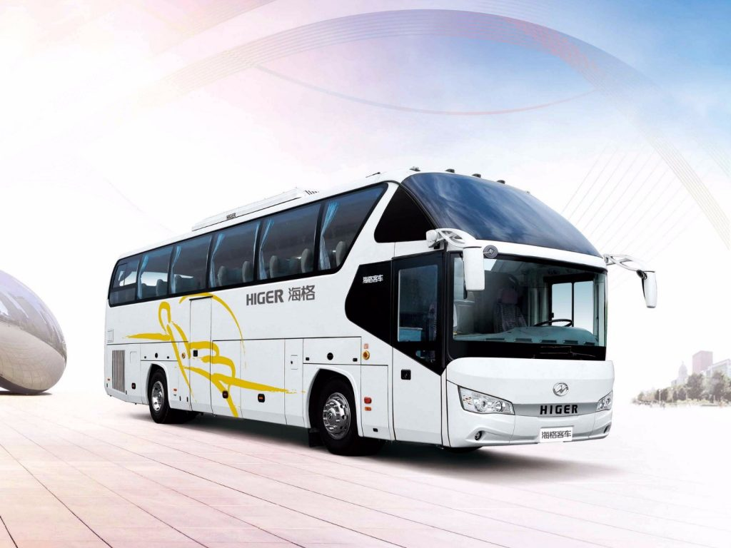 Higer Bus Rental in Astana