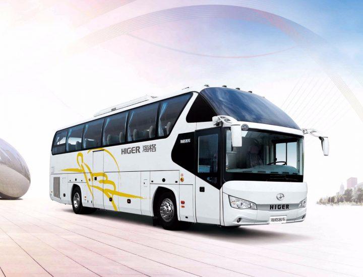 Higer Bus Rental in Astana